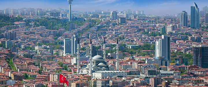 Goedkope vliegtickets naar Ankara