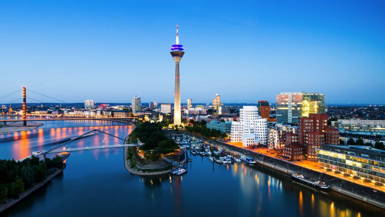 Goedkope vliegtickets naar Düsseldorf