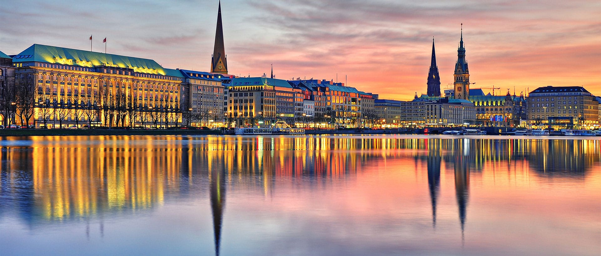 Goedkope vliegtickets naar Hamburg
