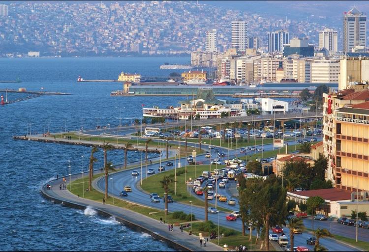 Goedkope vliegtickets naar Izmir